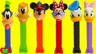 Mickey Mouse Club House Friends Pez Candy Dispensers