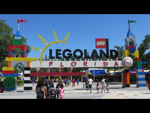 LEGOLAND FLORIDA 2018 🎢 Full Park Tour and Overview in HD 🎡