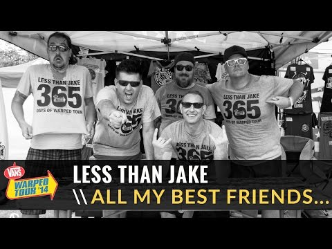 Less Than Jake - All My Best Friends Are Metalheads (Live 2014 Vans Warped Tour)