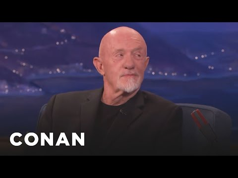Jonathan Banks Asks Conan What He's Reading Lately  - CONAN on TBS