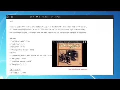 Excel VBA tutorials to enhance WordPress pages - #12 - FTP Uploader & Web editor