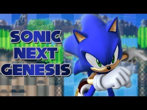 sonic next genesis rom download