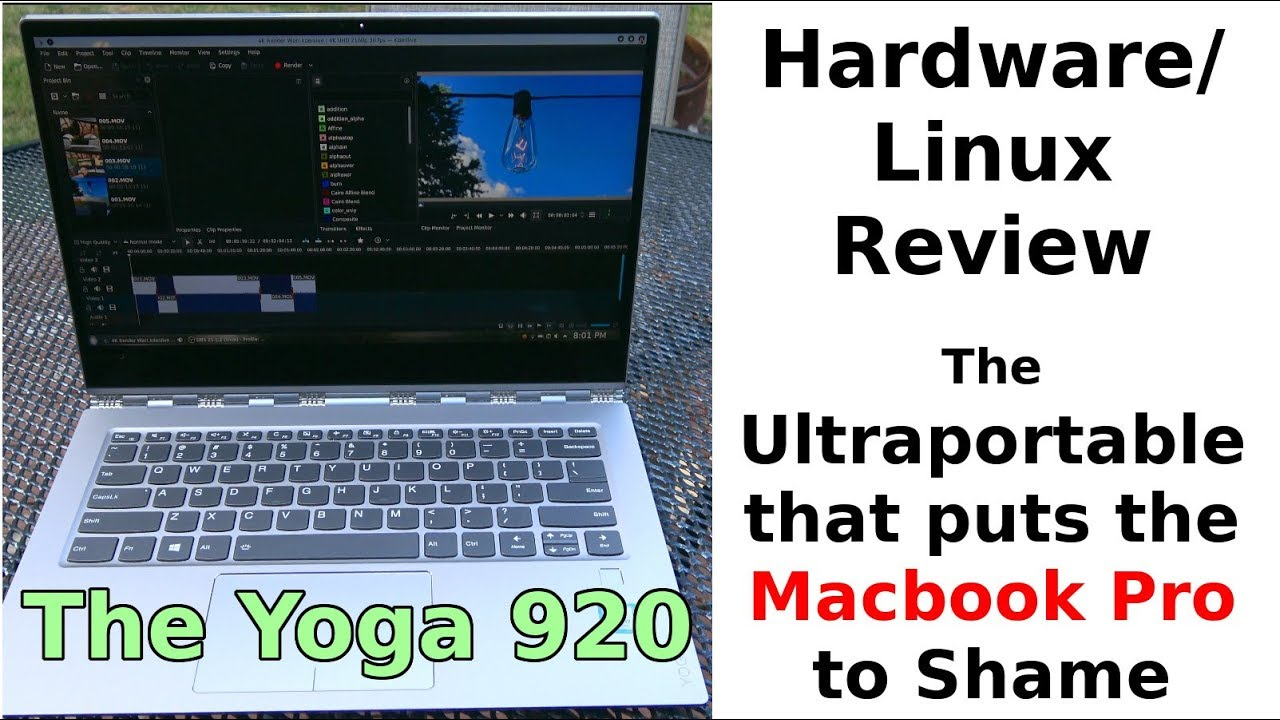 The Yoga 920 with Linux: Hardware Review
