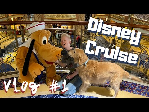 Disney Cruise With A SERVICE DOG // Day 1