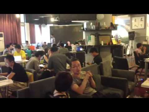 Garage Cafe: meeting place for Chinese startups (Beijing)