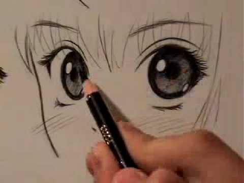 How to Draw Manga Eyes, 4 Different Ways [RE-UPLOAD]