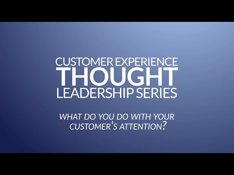 Customer Attention - What Do You Do With It? - Netflix case