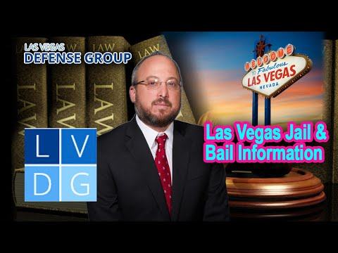 Las Vegas, Nevada, jail and bail information