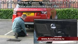 Фаркоп Thule на Range Rover Evoque купить за 16500 в магазине Автотвелв с доставкой по России(, 2013-10-21T15:43:16.000Z)