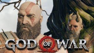 God of War 4   Часть 12  Прохождение  Первый древний  Мимир
