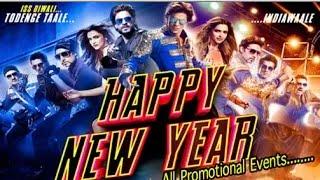 """Happy New Year"" Movie | Full Promotion Events 2014 | Shahrukh Khan | Deepika Padukone!"