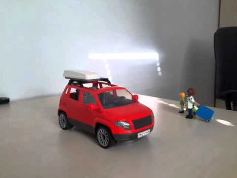 playmobil la nouvelle voiture rouge youtube. Black Bedroom Furniture Sets. Home Design Ideas