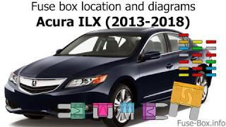 Fuse box location and diagrams: Acura ILX (2013-2018) - YouTube   Acura Ilx Fuse Box      YouTube