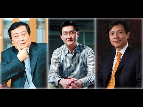 Top 10 Richest People in China 2014