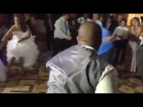 Roda de Capoeira na festa de casamento