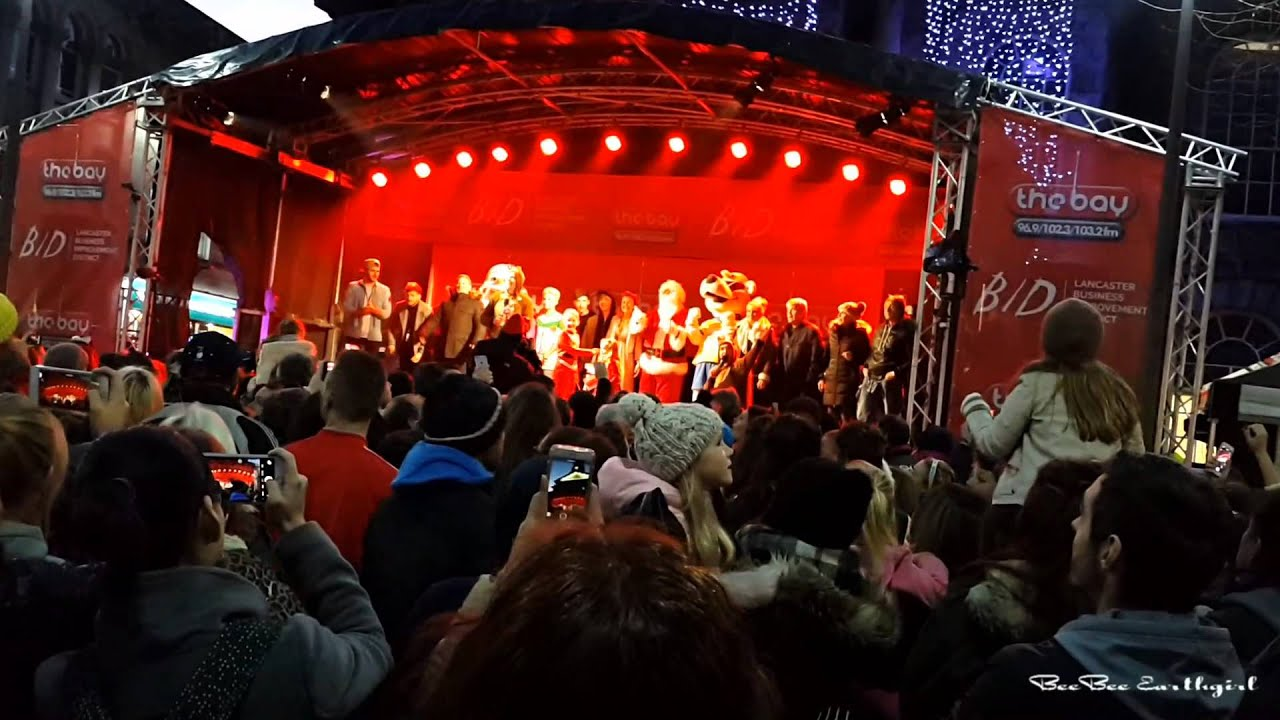 Countdown - Lancaster Christmas Lights Switch-On 2015 - YouTube