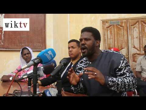 Conférence de presse des initiateurs de la Marche pacifique de la jeunesse mauritanienne