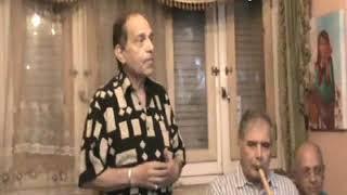 فوق الشوك - غناء الفنان فتحى شرف العندليب - صالون د خليل الديوانى 15/7/2019