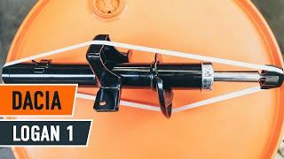 Assista a um guia em vídeo sobre como substituir Suporte de apoio do conjunto mola amortecedor em DACIA LOGAN (LS_)