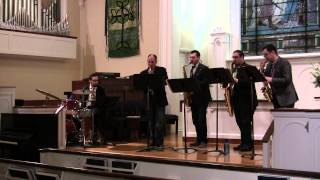 Fly Me to the Moon - Metropolitan Saxophone Quartet
