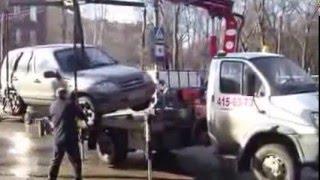 Эвакуация внедорожника в Москве