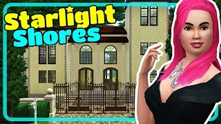The Sims 3 Starlight Shores Town - House Tours from Showtime Expansion Pack EP Episode 1