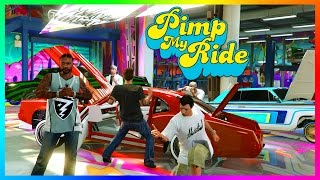 GTA ONLINE PIMP MY RIDE FREEMODE SPECIAL - GTA 5 BEST CARS TO CUSTOMIZE, RARE/SECRET VEHICLES & MORE