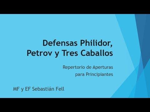 Philidor, Petrov y 3 Caballos 💪 – Repertorio para Principiantes