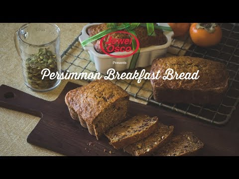 Persimmon Spiced Breakfast Bread | Holiday Recipes | Jewel-Osco