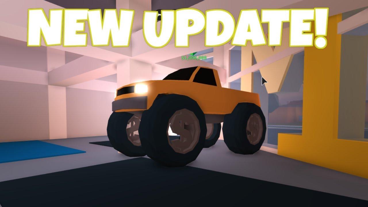 roblox jailbreak monster truck