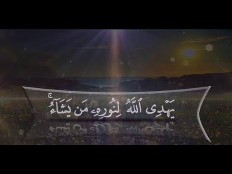 نور على نور يهدي الله لنوره من يشاء مقطع رهيب للشيخ صالح