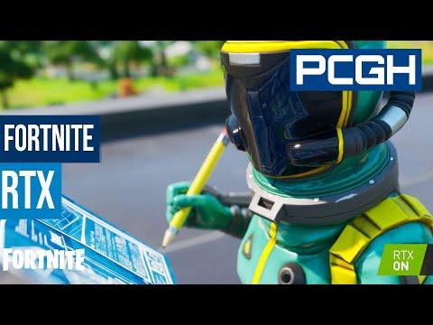Fortnite RTX ausprobiert   Performance und Grafik   FPS-Killer Raytracing?