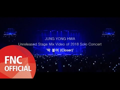 Unduh lagu [ROOM/STAY622] JUNG YONG HWA Unreleased Stage Mix Video of 2018 Solo Concert '딱 붙어 (Closer)' terbaru 2020
