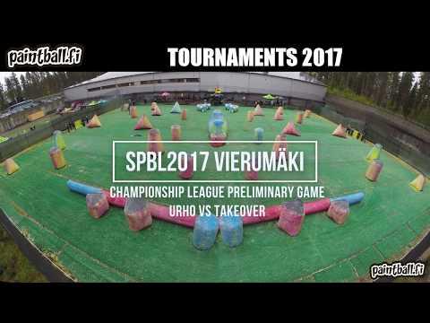Urho vs Takeover - SPBL2017 Vierumäki