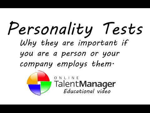 the benefits of using personality tests On the internet, anything you do is like taking a personality quiz:  quick to point  out that there are potential benefits to personality profiling, too.