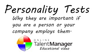 Why use Personality Tests in the Workplace?