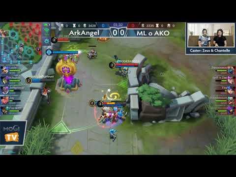 ArkAngel vs ML o AKO Game 1,2 (BO2) Just ML League 3