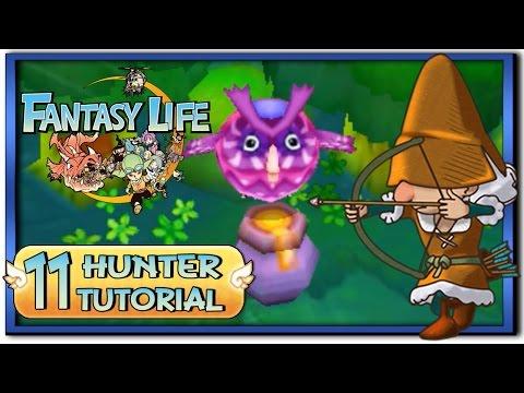Fantasy Life - Part 11: Hunter Life Tutorial + Gameplay!