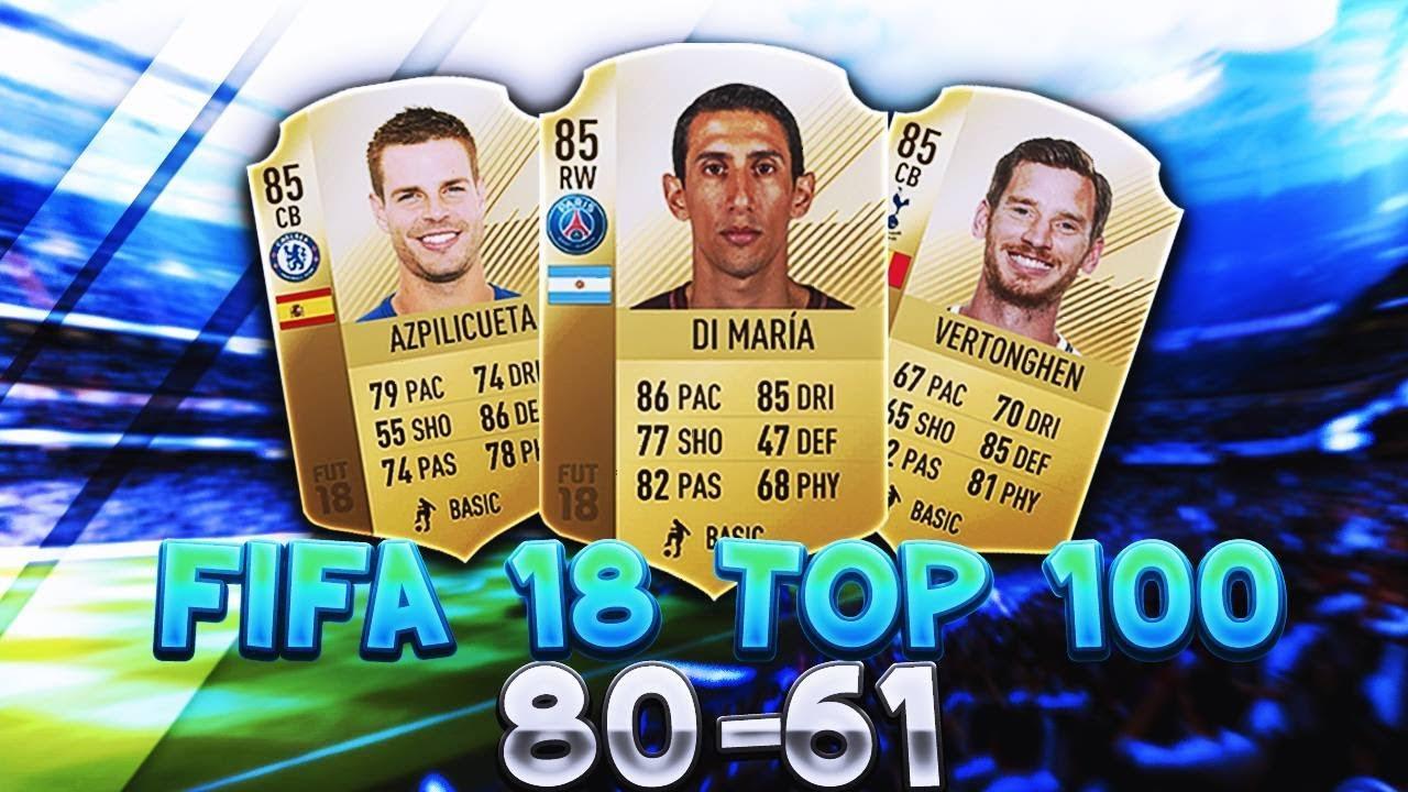 Fifa 18 Top 100