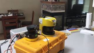 Safety laser scanner from SICK works in Steam environment