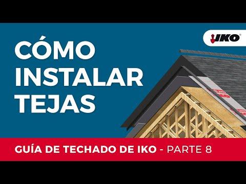IKO Guía de Instalación Parte 8  Aplicación de las tejas
