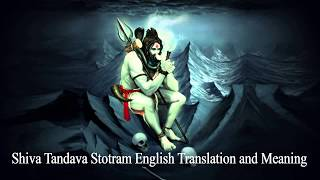Shiva Thandav Stotram -  English Subtitles with Meaning and Translation