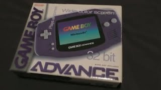 Unboxing a Gameboy Advance in 2019