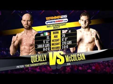 Peter Queally vs Joe McColgan - BAMMA 26