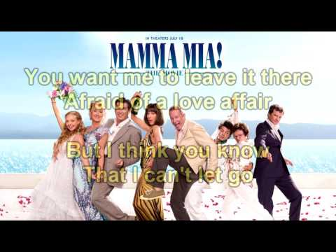 Mamma Mia! The Movie Soundtrack: Take a Chance on Me (Instrumental/Karaoke) + Lyrics