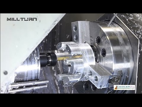 I've never seen this perfect CNC working process before. Excellent factory machine and technology