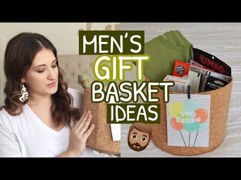 MEN'S GIFT BASKET IDEAS   HUSBAND BIRTHDAY GIFT