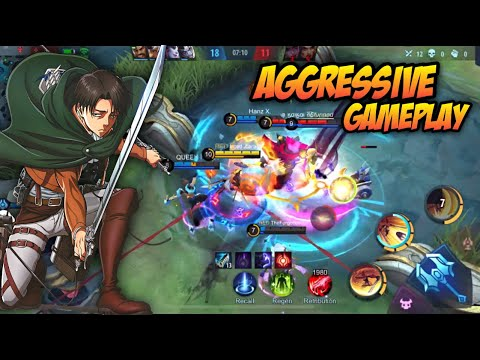 20 KILLS IN 10 MINUTES ! AGGRESSIVE FANNY GAMEPLAY ! - Mobil