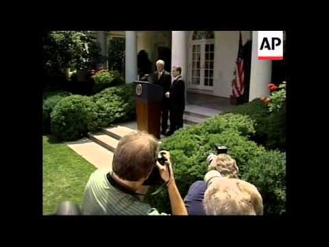 USA: BILL CLINTON ON N.IRELAND PEACE PROCESS
