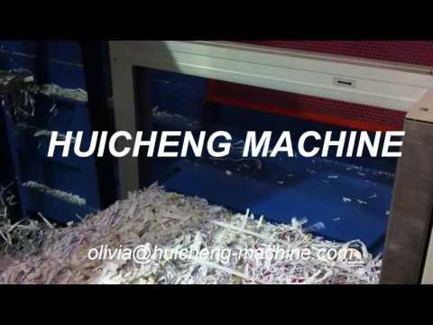 HUICHENG MACHINE horziontal auto paper baling machine waste compact